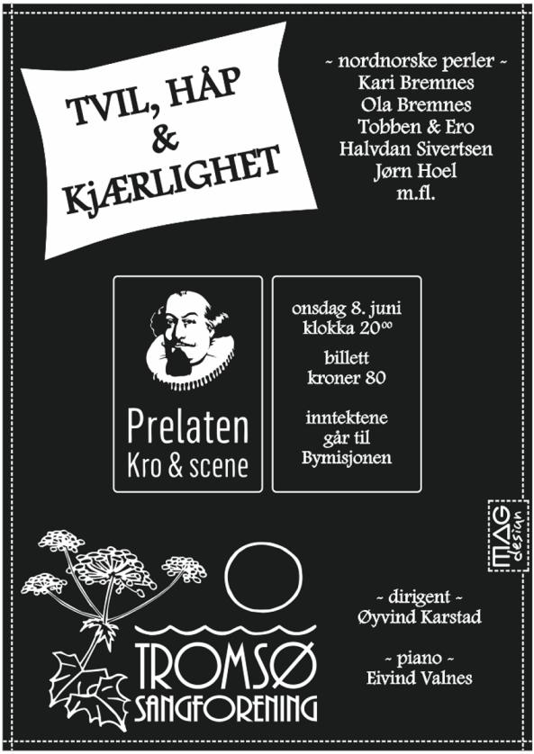 TSF TVIL,HÅP&KJÆRLIGHET [MAG] plakat b851 web